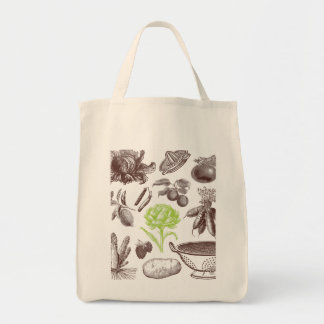 X-Ray Greenmarket Organic Grocery Tote Grocery Tote Bag