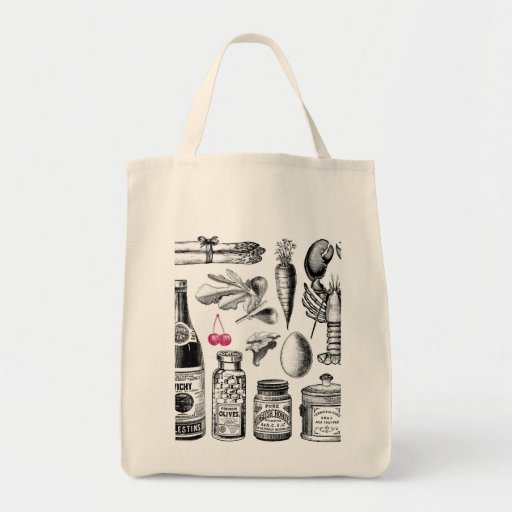 X-Ray Grocery Bag Shopping Tote