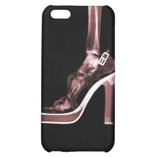 X-RAY HIGH HEEL LADY LEG - RED iPhone 5C COVERS