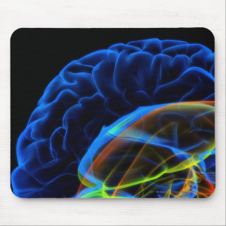 X-ray image of the brain mouse pad
