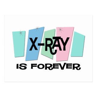 X-Ray Is Forever Postcard