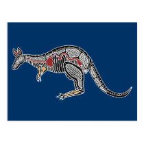 X-Ray Kangaroo Postcard
