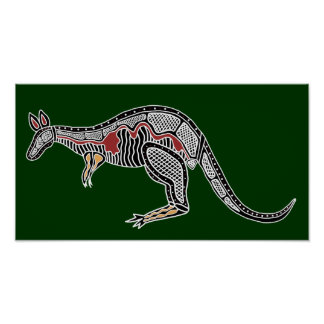 X-Ray Kangaroo Poster