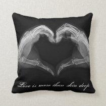X-Ray Love Heart Pillow