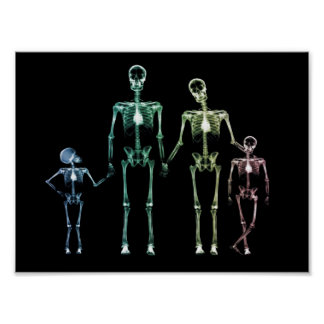 X-Ray My Family Poster
