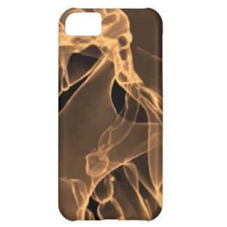 x-ray my skull orange iPhone 5C cases