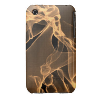 x-ray my skull orange iPhone 3 case