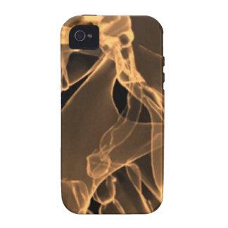 x-ray my skull orange iPhone 4 cover