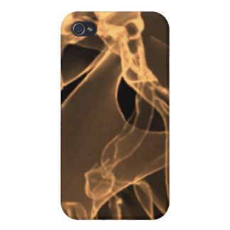 x-ray my skull orange iPhone 4/4S cover