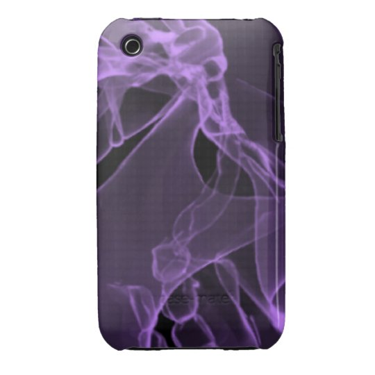 x-ray my skull purple iPhone 3 Case-Mate case