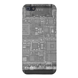 X-ray of iPhone 4 Case