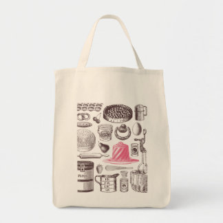 X-Ray Patisserie Grocery Tote Bag