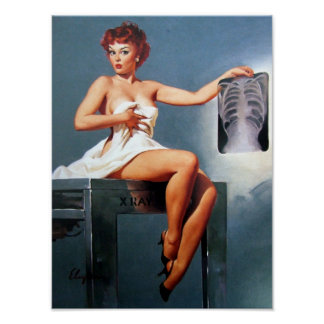 X-Ray Pin Up Posters