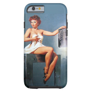 X-ray Pin Up Tough iPhone 6 Case