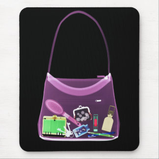 X-RAY PURSE - ORIGINAL PINK MOUSE PAD