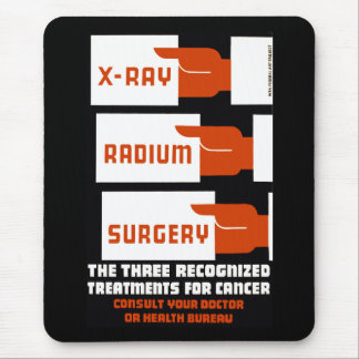 X-Ray, Radium, Surgery Mouse Pad