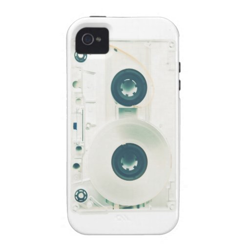 X-ray Retro Cassette iPhone 4/4S Covers