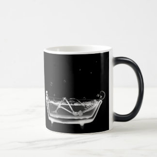 X-Ray Skeleton B&W Bath Time Coffee / Beer Mugs