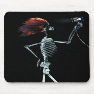 X-RAY SKELETON HAIR STYLING - ORIGINAL MOUSEPAD