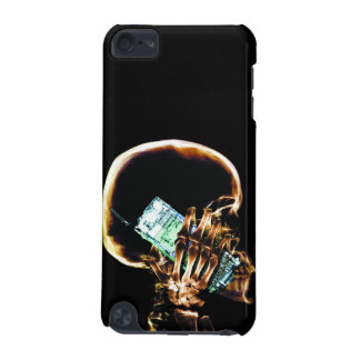 X-RAY SKELETON ON CELL PHONE iPod TOUCH (5TH GENERATION) CASES