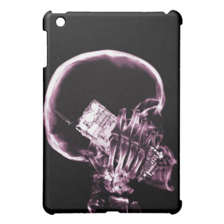 X-RAY SKELETON ON - PINK COVER FOR THE iPad MINI