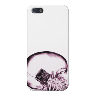 X-RAY SKELETON ON - PINK iPhone 5 COVERS