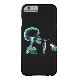 X-RAY Skeleton Smoking Cigarette iPhone 6/6s Barely There iPhone 6 Case