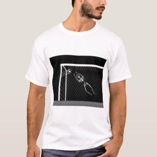 X-RAY SKELETON SOCCER GOALIE B&W T-Shirt