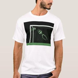 X-RAY SKELETON SOCCER GOALIE GREEN T-Shirt