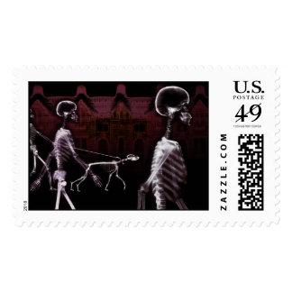 X-Ray Skeletons Midnight Stroll Postage