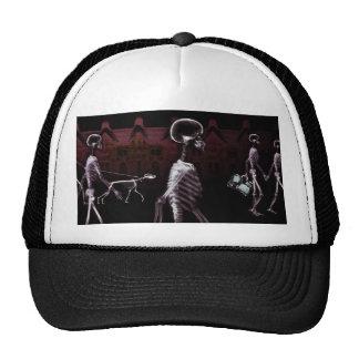 X-Ray Skeletons Midnight Stroll Trucker Hat