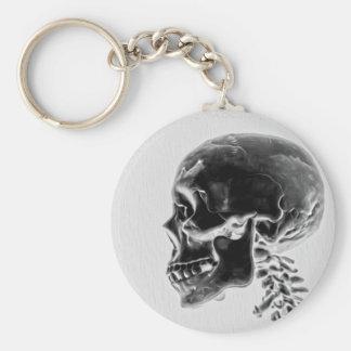X-Ray Skull Keychain