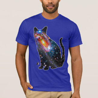 """X-Ray"" Space In Cats T-shirt"