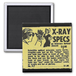 X-Ray Specs! See through clothes (kind of) Magnet