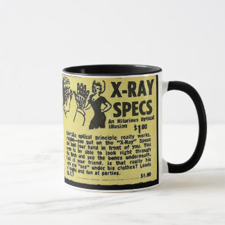 X-Ray Specs! See through clothes (kind of) Mug