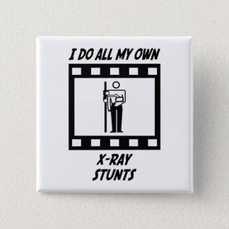 X-Ray Stunts Pinback Button