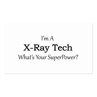 X-Ray Tech Business Card
