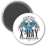 X-Ray Tech Caduceus 3 Inch Round Magnet