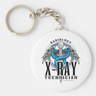 X-Ray Tech Caduceus Keychain