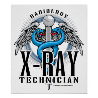 X-Ray Tech Caduceus Posters