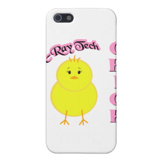 X-Ray Tech Chick iPhone 5 Covers