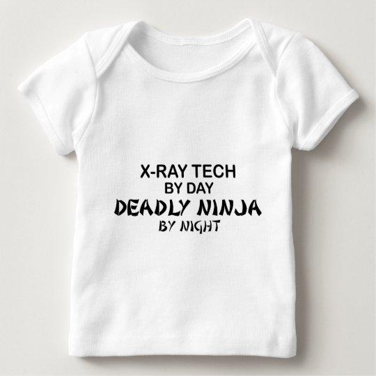 X-Ray Tech Deadly Ninja Baby T-Shirt