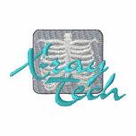X-ray Tech Embroidered Hooded Sweatshirts