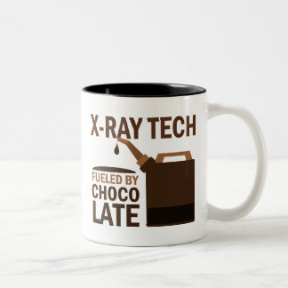 X-ray Tech Gift (Funny) Two-Tone Coffee Mug