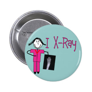 X-Ray Tech Gifts 2 Inch Round Button