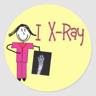 X-Ray Tech Gifts Classic Round Sticker