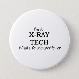 X-RAY TECH PINBACK BUTTON