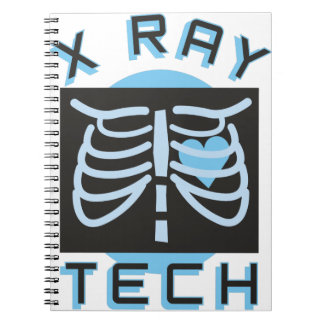 X-Ray Tech Spiral Notebook