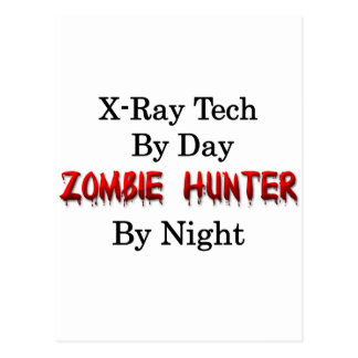 X-Ray Tech/Zombie Hunter Postcard