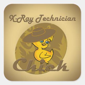 X-Ray Technician #6 Square Sticker